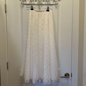 Anthropologie HD in Paris Tulle Maxi Skirt
